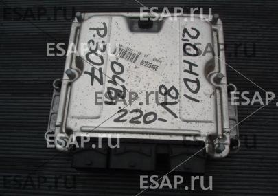 БЛОК УПРАВЛЕНИЯ   Peugeot 307 2.0 HDI 2003 год