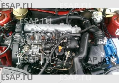 Двигатель CITROEN C15 1.8 D  насос форсунки 161A 98r. Дизельный