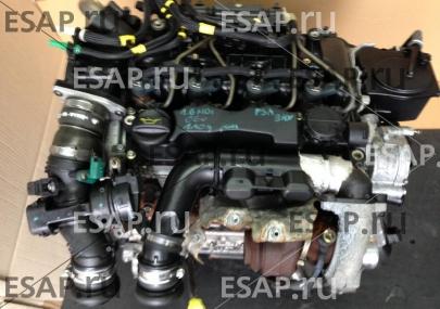 Двигатель  1.6 HDI PSA 9HX 90 л.с. PEUGEOT CITROEN KOMPL Дизельный