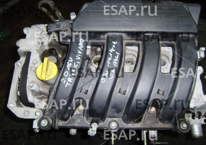 Двигатель  2.0 16 V RENAULT TRAFIC VIVARO  FV Бензиновый