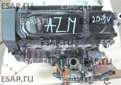 Двигатель  AZM SKODA SUPERB и 2.0 8V Бензиновый