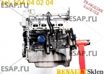 Двигатель  K4M 862 RENAULT CLIO III 1.6 16V GT 130 л.с. Бензиновый