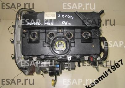 Двигатель MONDEO MK3 2.2 TDCI  QJBA 6S7Q 155KM 06r GWA Дизельный