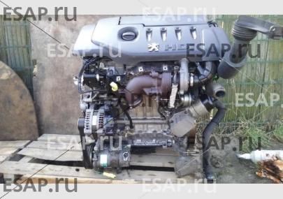 Двигатель Peugeot 307.  1,4 HDI комплектный 52 TYS. Дизельный