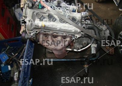 Двигатель Toyota Yaris 1  1,0 лифт. версия Francuz,Czci . Бензиновый