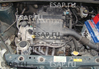 Двигатель Toyota Yaris 1  1,0 wersja Japoska,Czci . Бензиновый