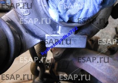 Турбина ТУРБОКОМПРЕССОР OPEL VECTRA B 2.0 DTI 90570506