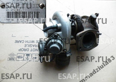 Турбина VOLVO V70 S60  ТУРБОКОМПРЕССОР TD04HL-13T