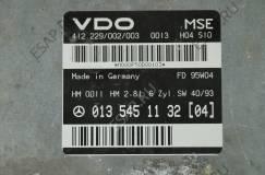 MERCEDES 124 E280 2,8 0135451132