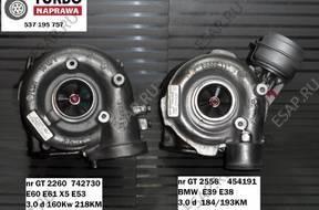 ТУРБОКОМПРЕССОР BMW 530d E60 E61 E53 X5 E39