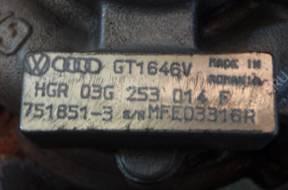 ТУРБОКОМПРЕССОР VW 1.9 TDI BXE BXF 03G253014F