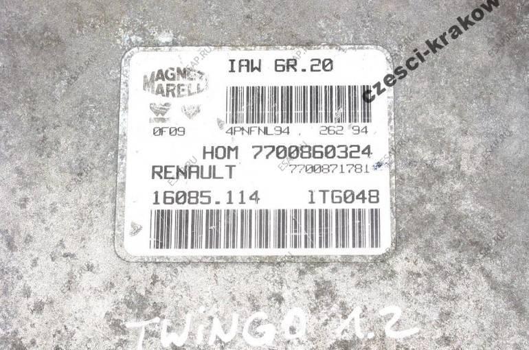 87. БЛОК УПРАВЛЕНИЯ RENAULT TWINGO 1.2 7700860324