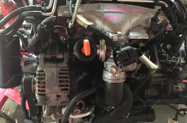 BKD 2.0 tdi BKD комплектный двигатель + skrzynia