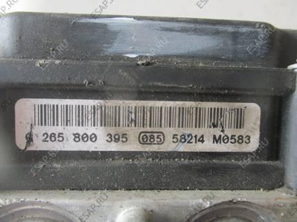 БЛОК АБС   Peugeot 107 0265231579/0265800441