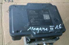 БЛОК АБС RENAULT MEGANE III FLUENCE SCENIC 1.6