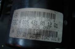 БЛОК SBC АБС MERCEDES W211 A0054318012 026596029 0265250097