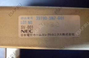БЛОК УПРАВЛЕНИЯ  39790-SN7-G01  HONDA  ACCORD  ROVER 620