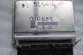 БЛОК УПРАВЛЕНИЯ ДВИГАТЕЛЕМ 8E1909557 Audi A4 B7  2.0 ALT