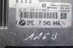 БЛОК УПРАВЛЕНИЯ ДВИГАТЕЛЕМ BMW E87 116 E90 316 I N45 7545046