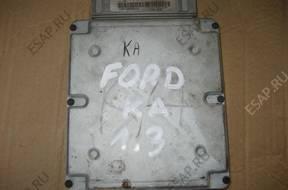 БЛОК УПРАВЛЕНИЯ   ДВИГАТЕЛЕМ Ford 1.3 XS5F12A650FA