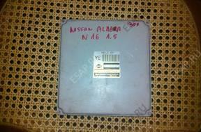 БЛОК УПРАВЛЕНИЯ ДВИГАТЕЛЕМ NISSAN ALMERA N16 1.5 MEC20-605