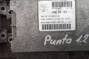 БЛОК УПРАВЛЕНИЯ Fiat punto 500 panda   ВПРЫСКОМ ТОПЛИВА