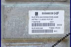 БЛОК УПРАВЛЕНИЯ OPEL AGILA ASTRA H 1.3 CDTI 5556638 HF
