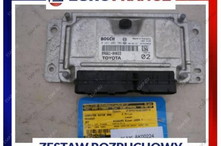 БЛОК УПРАВЛЕНИЯ Peugeot 107 1,0 89661-0H023 0261208702
