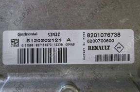 БЛОК УПРАВЛЕНИЯ    RENAULT TWINGO 1.2 8120202121A