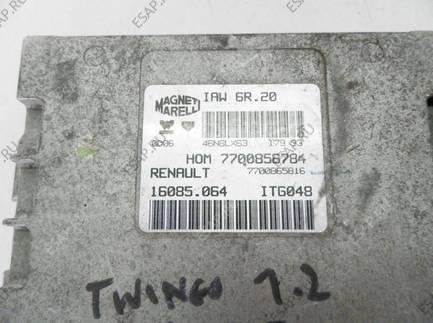 БЛОК УПРАВЛЕНИЯ RENAULT TWINGO   77000856784