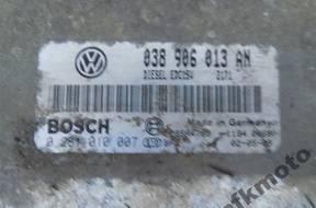 БЛОК УПРАВЛЕНИЯ VW CADDY 1,9 TDI 0281010007 038906013AN