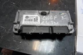 БЛОК УПРАВЛЕНИЯ VW GOLF V 1.4 TSI БЕНЗИН 03C906024K FV