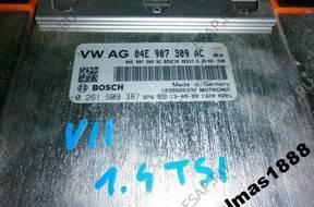 БЛОК УПРАВЛЕНИЯ VW GOLF VII 1.4 TSI   04E907309AC