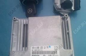 БЛОК УПРАВЛЕНИЯ ЗАМОК ЗАЖИГАНИЯ КЛЮЧ Mercedes W211 3,2 CDI