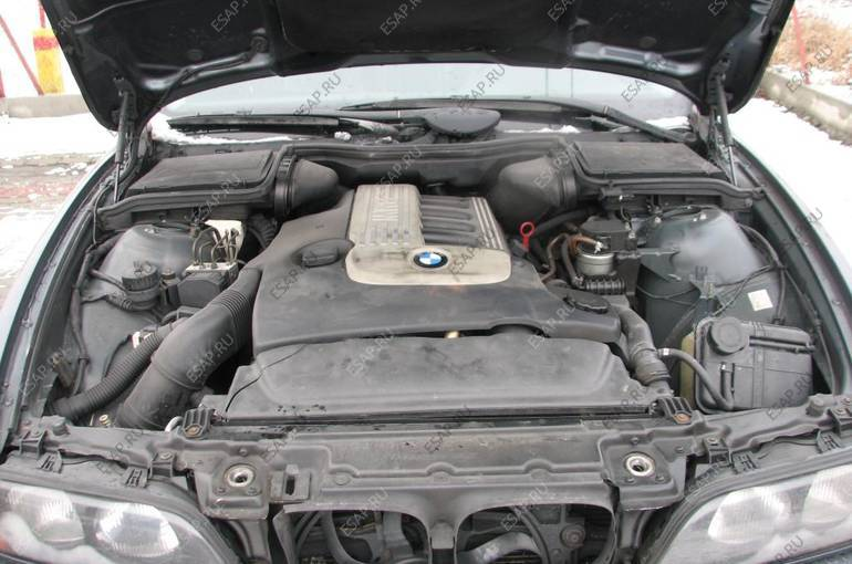 BMW E39 530D двигатель 120kW M57 FAKTURA