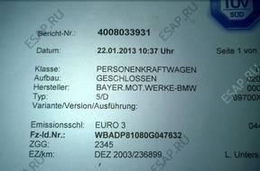 BMW E39 530D E46 330D E53 3.0 двигатель SUPEK 268TYS