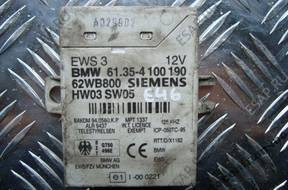 BMW E39 E83 E46 X5 БЛОК УПРАВЛЕНИЯ МОДУЛЬ EWS 4100190