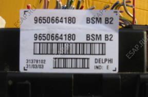 BSM 9650664180 - Peugeot 307 1.6 - 2003 год.