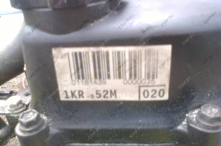 C1 PEUGEOT107 AYGO 1.0 двигатель
