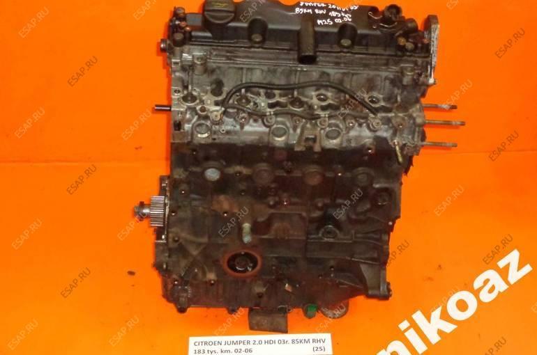 CITROEN JUMPER 2.0 HDI 03 85KM RHV двигатель