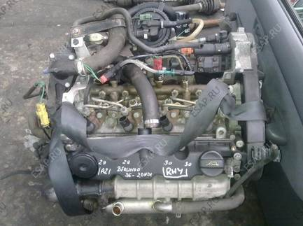 CITROEN JUMPER 2.0 HDI RHY двигатель SILNIKI