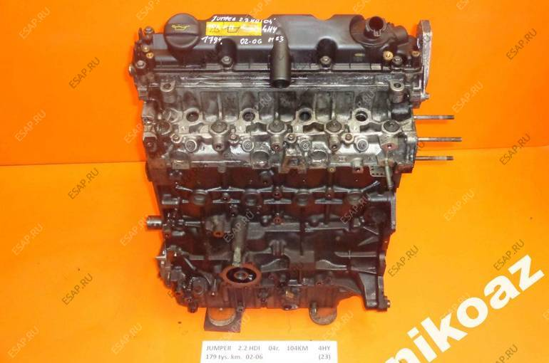 CITROEN JUMPER 2.2 HDI 04 104KM 4HY двигатель