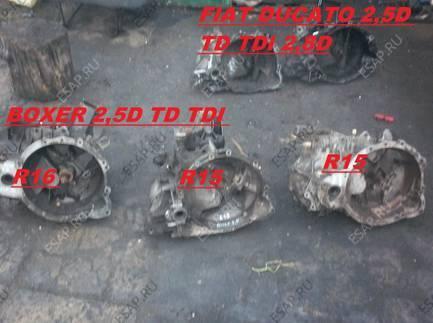 CITROEN JUMPER BOXER 2,5D 2,5TDI КОРОБКА ПЕРЕДАЧ  BIEGOW