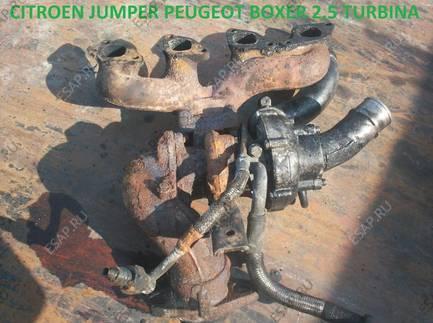 CITROEN JUMPER BOXER 2,5td 2,5tdi ТУРБИНА
