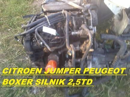 CITROEN JUMPER PEUGEOT BOXER 2,5TD двигатель KOMPLETN