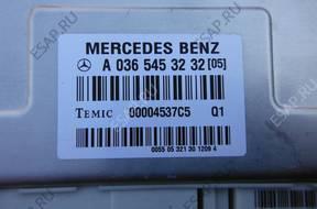 CLS W219 3.5 V6 БЛОК УПРАВЛЕНИЯ AIRMATIC A0365453232