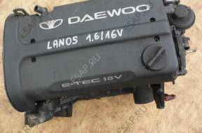 Daewoo Lanos 1,6 16V двигатель bez osprztu