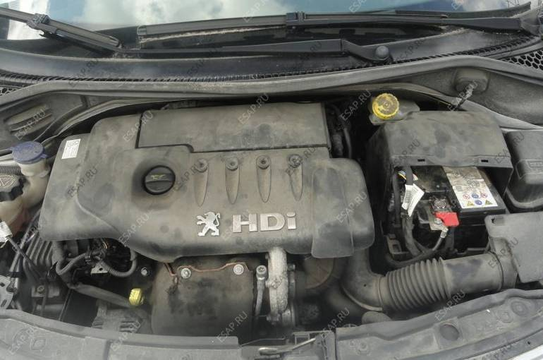 двигатель 1.6 HDI peugeot 207