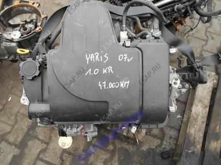 двигатель 1KR TOYOTA AYGO C1 PEUGEOT 107 1.0 бензиновый