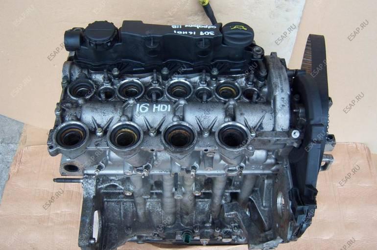 двигатель 9HX 1.6 HDi PEUGEOT 207 307 90KM 118 тысяч км.